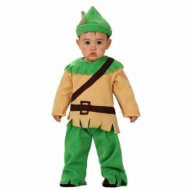 Baby carnaval kleding robin hood
