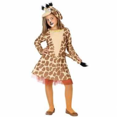 Carnaval kleding giraffe kostuum