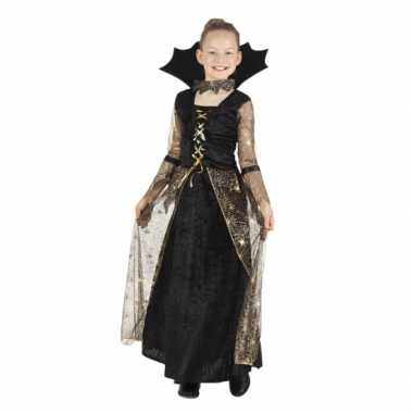 Carnaval kleding heks jurk adrienne voor meisjes