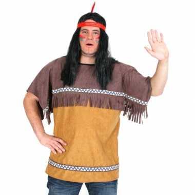 Carnaval kleding indiaan shirt