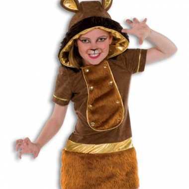 Carnaval kleding leeuwtje voor meiden
