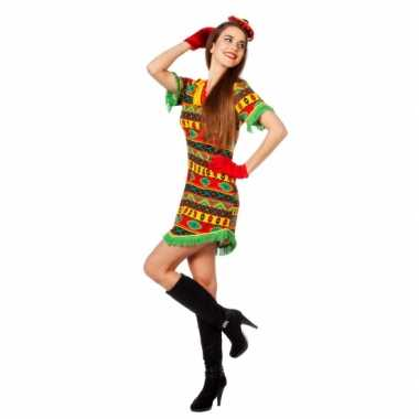 Carnaval kleding mexicaans jurkje