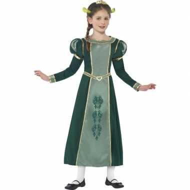 Carnaval kleding prinses fiona kostuum voor meisjes