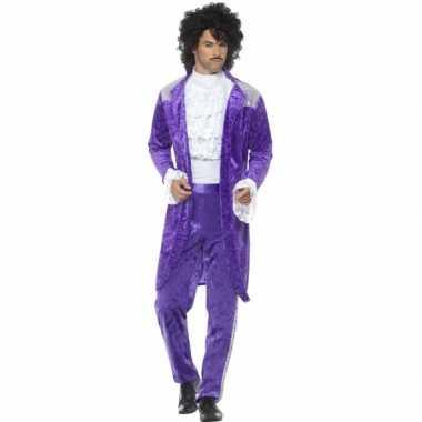 Carnaval kleding purple rain kostuum