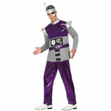 Carnaval kleding robot voor mannen