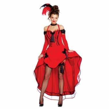 Carnaval kleding rode burlesque jurken