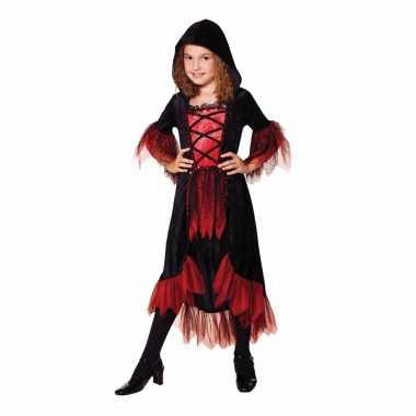 Carnaval kleding vampier jurk bella voor meisjes