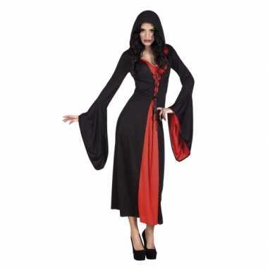 Carnaval kleding vampier jurk valentina voor dames