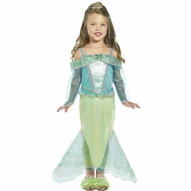 Carnaval kleding zeemeerminnen kostuum voor meisjes