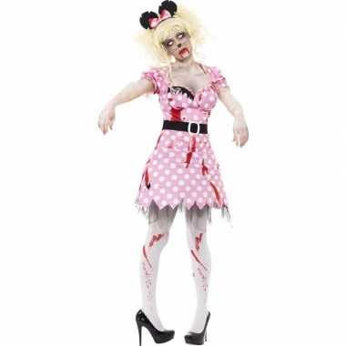 Carnaval kleding zombie minnie outfit