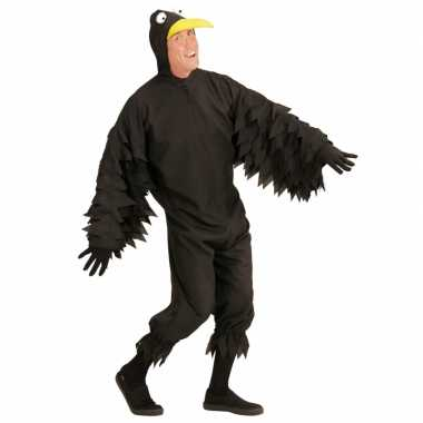 Carnaval kleding zwarte vogel