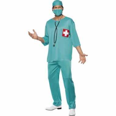 Chirurg carnaval kleding heren