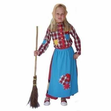 Kinder carnaval kleding heks