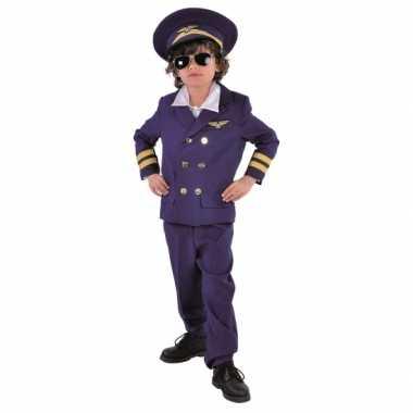 Kinder carnaval kleding piloot