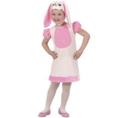 Kleuter carnaval kleding konijn