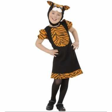 Kleuter carnaval kleding tijger