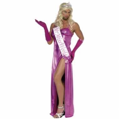 Miss world carnaval kleding heren