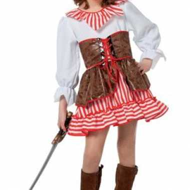 Piraten carnaval kleding meisjes