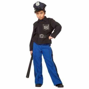 Politie carnaval kleding kind