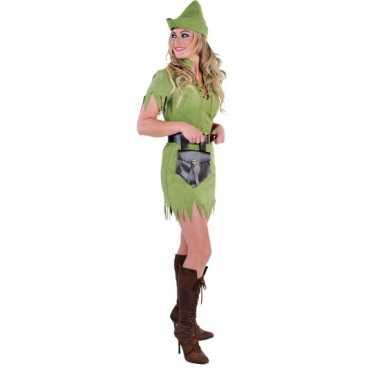 Robin hood carnaval kleding dames
